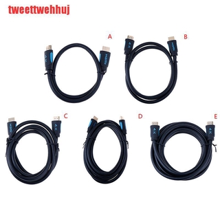 (TWJ-COD)Alloy HDMI Cable Ultra HD Cable V2.0 2K x 4K High Speed HDTV New 1.5/2/3 m