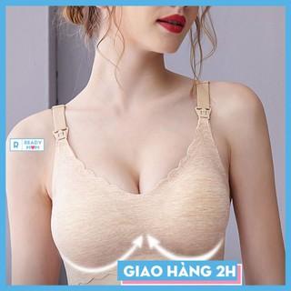 Áo Lót Bầu Áo Lót Cho Con Bú Vải Modal Siêu Mềm Mịn Không Đường May Ôm Và Nâng Ngực EnjoyPreg - Trung Quốc thumbnail