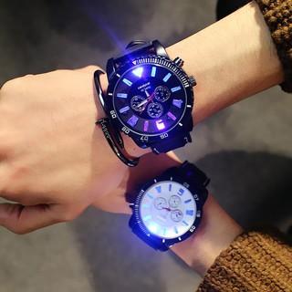 [FREESHIP] Đồng hồ nam dạ quang Candycat siêu đẹp, mặt sáng, chống thấm nước, chống trầy xước hiệu quả 8050