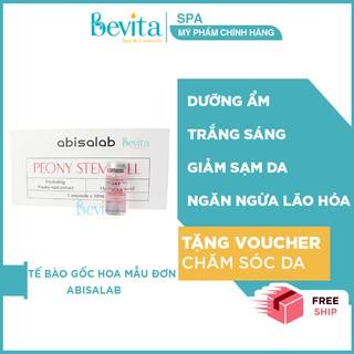 Tế bào gốc hoa mẫu đơn dưỡng ẩm Abisalab Peony Stem Cell, tế bào gốc giúp sáng da - Bevita