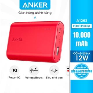 Pin sạc dự phòng ANKER PowerCore 10000mAh - A1263 thumbnail