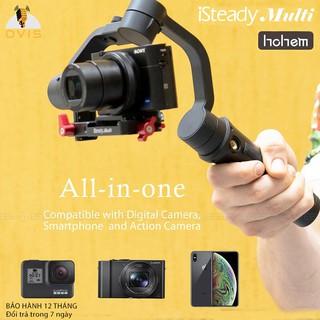 [BH 1 ĐỔI 1] Tay Cầm Chống Rung (Gimbal) 3 Trong 1 Hohem ISteady Multi Dùng Cho Smartphone, Action Camera thumbnail