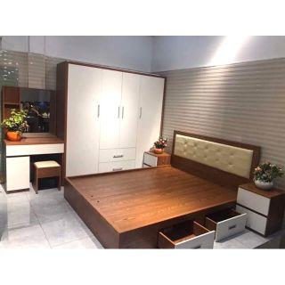 [Bảo hành chính hãng ]Cobo phòng ngủ đẹp tiện ích nội thất TUÂN PHƯƠNG