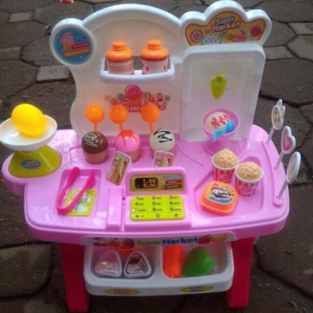 Bộ đồ chơi quầy bán kem