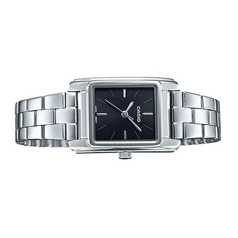 Đồng hồ nữ Casio chính hãng  LTP-E165D-1ADF dây kim loại