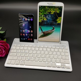 Bàn phím Bluetooth kết nối cùng lúc 2 thiết bị – KEY02