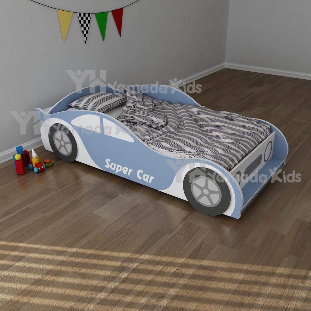 Giường ngủ bằng gỗ cho bé từ 0 đến 12 tuổi bằng gỗ MDF