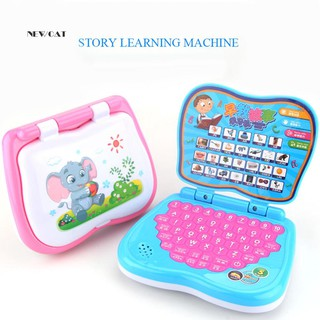 ღNK_Early English Learning Machine Educational Computer Toy Kids Boys Girls Gift