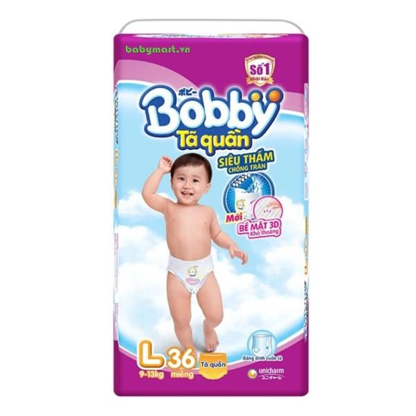Bỉm Bobby Fresh quần L36 TA019