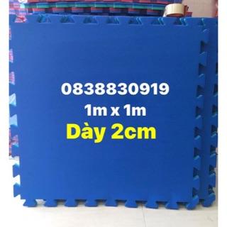 ✅ (FREESHIP HCM từ 25 miếng) 01 Thảm tập võ, tập gym, 1 mét vuông