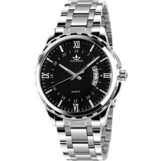 Đồng hồ nam FOURRON Japan DL688 lịch ngày sang trọng không thấm nước 3ATM dây hợp kim thép không gỉ thumbnail
