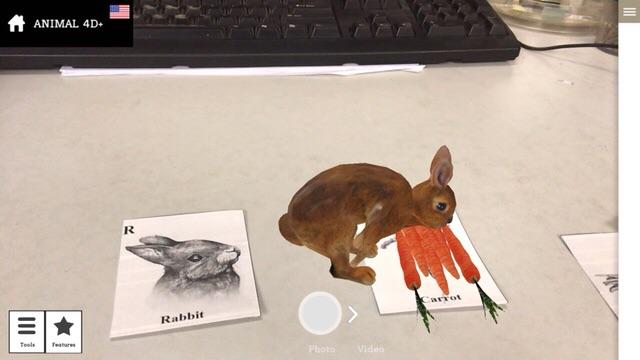 Bộ thẻ ảnh animal 4D (26 hình động vât+ 5 hình thức ăn)
