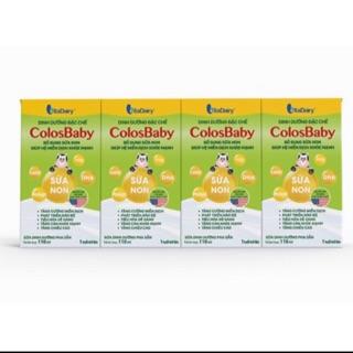 Thùng sữa bột Colosbaby pha sẵn 110ml và 180ml