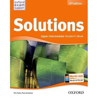 Bộ Sách Solutions Upper Intermediate (2nd edition) (Trọn bộ 2 cuốn) (With CD) - Tác giả: PAUL A. DA