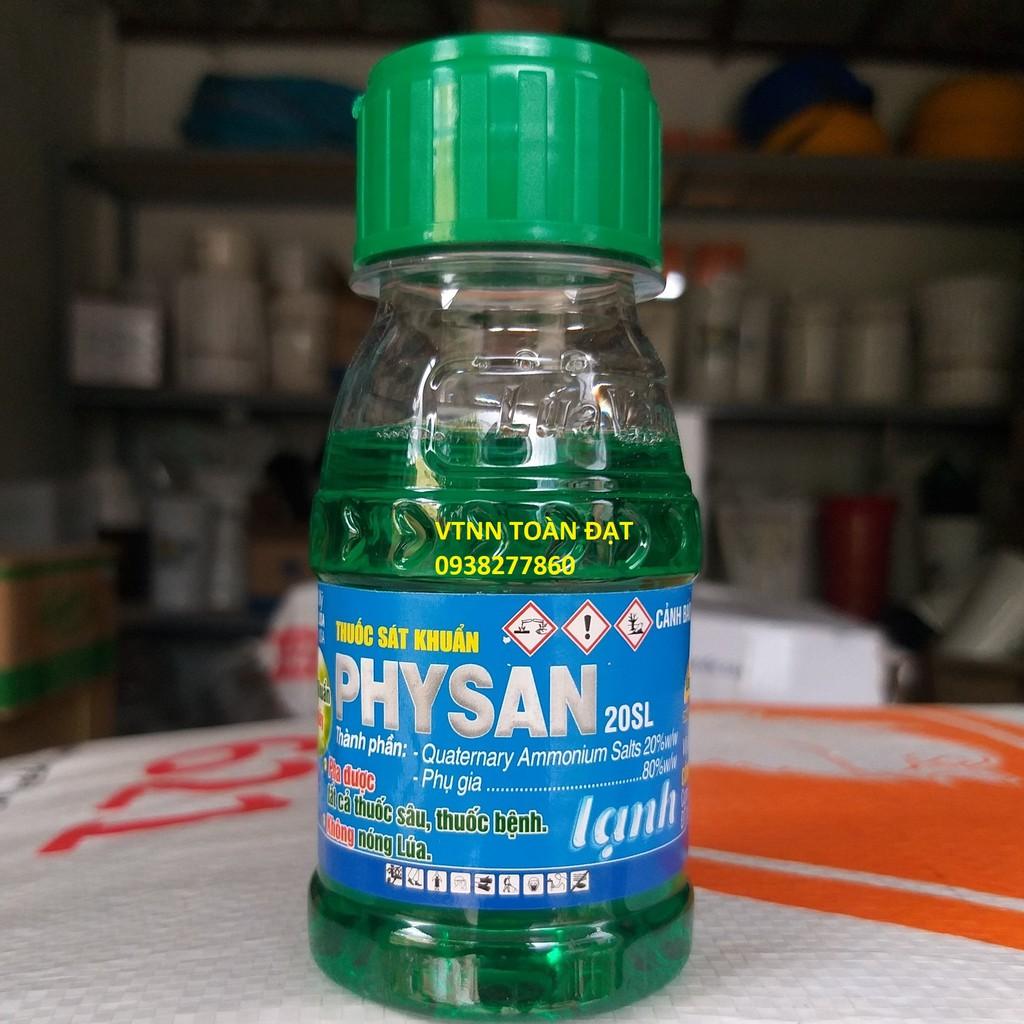 Thuốc Sát Khuẩn Trừ Nấm Bệnh PHYSAN 20SL (Lọ 100ml), Physan lạnh