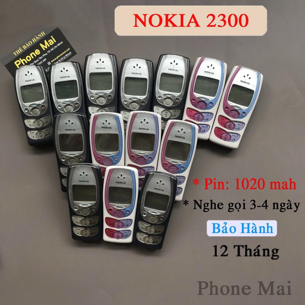 Điện Thoại Nokia 2300 Huyền Thoại, nghe gọi 2- 3 ngày bảo hành 12 tháng