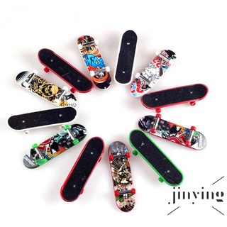 ❤S Wind 5Pcs/Set Graffiti Pattern Finger Skateboard Mini Skateboard Model Kids