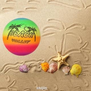 Foldable Beach PVC Rainbow Inflatable Volleyball