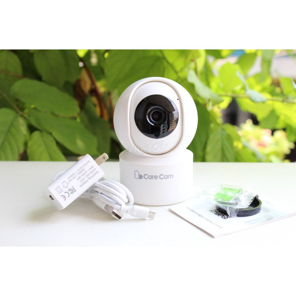 Camera Ip Wifi CareCam YH200 Độ Phân Giải 2.0Mpx - Xoay Theo Chuyển Động Bảo Hành 60 Tháng