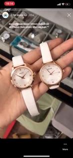 [KÈM VIDEO] Đồng hồ nữ KEZZI LADY da trắng 28mm