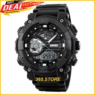 Đồng hồ nam thể thao siêu đẹp chính hãng Skmei cá tính siêu ngầu cho bạn trẻ năng động.