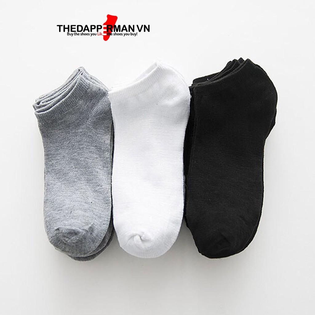 Tất nam cổ ngắn hàng Việt Nam xuất khẩu chống hôi chân Thedapperman