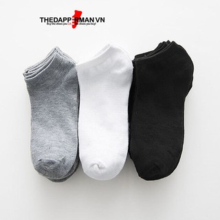 Hình ảnh Tất nam cổ ngắn hàng Việt Nam xuất khẩu chống hôi chân Thedapperman-0