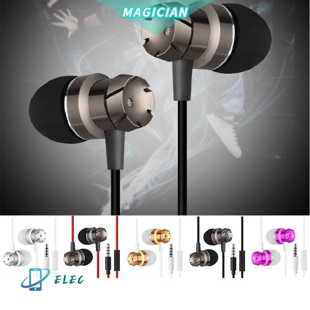 MAGIC Fashion Accessories 6 Colors Earbuds Supper In-Ear Earphone