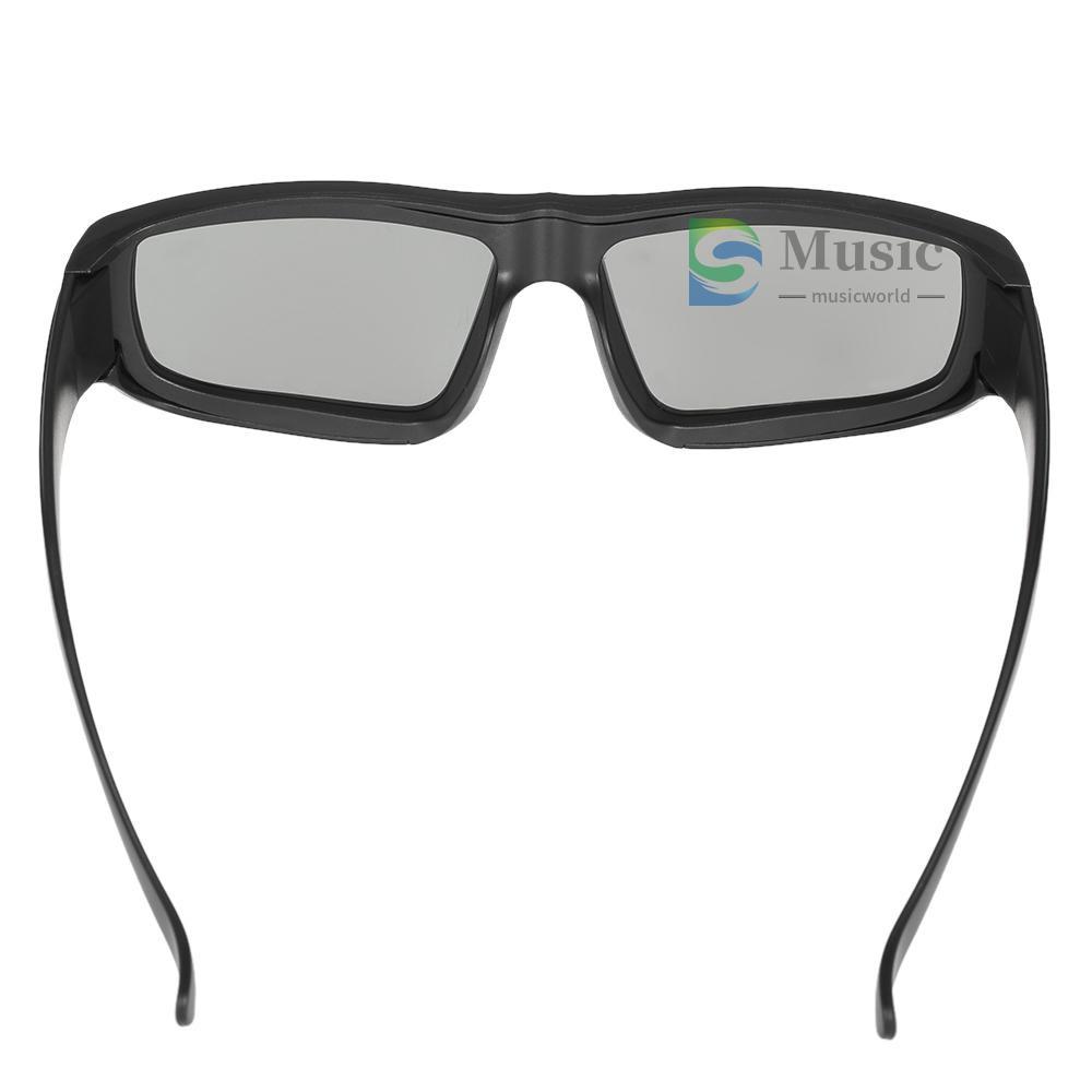 〖MUSIC〗Passive 3D Glasses Circular Polarized Lenses for Polarized TV Real D 3D Cinemas for Panasonic