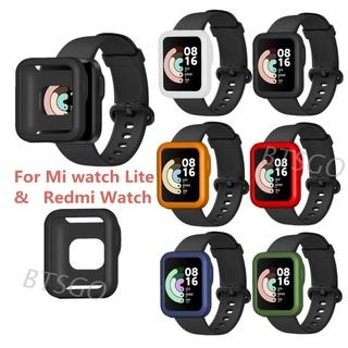 Ốp Silicone Bảo Vệ Mặt Đồng Hồ Thông Minh Xiaomi Mi Band Lite Redmi Watch