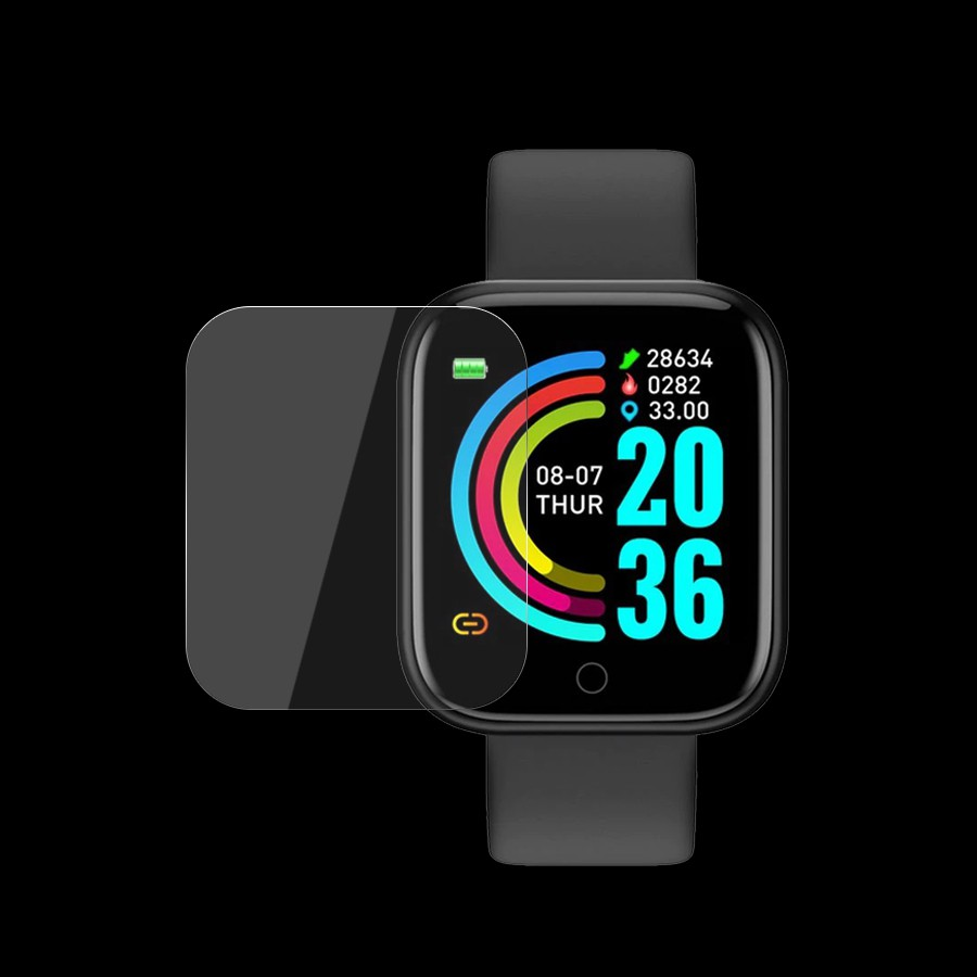 Miếng Dán Màn hình PPF Smart Watch SmartWatch 6 Y68 W26 W46 U78 Plus U78Plus Cường Lực Dẻo Trong Suốt Đồng Hồ Thông Minh