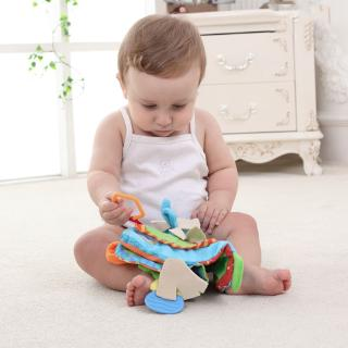 ❤❤ Newborn Baby Rattles Teether Toys Cute Donkey Animal Early Education Toys Christmas Gift