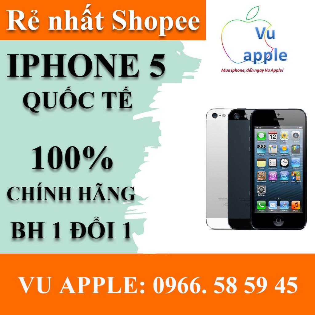 Điện thoại iphone 5 phiên bản quốc tế dung lượng 16GB zin chính hãng