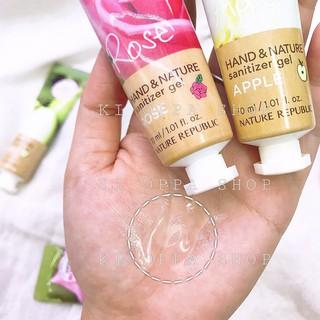Gel rửa tay khô NATURE REPUBLIC Hand & Nature Sanitizer Gel 30ml thumbnail