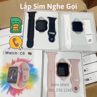 Đồng Hồ Thông Minh C6 Lắp Sim Nghe Gọi Đồng hồ gắn sim thời trang