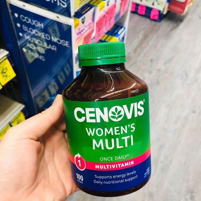 Cenovis Women's Multi Vitamins 100 viên Vitamin tổng hợp cho nữ