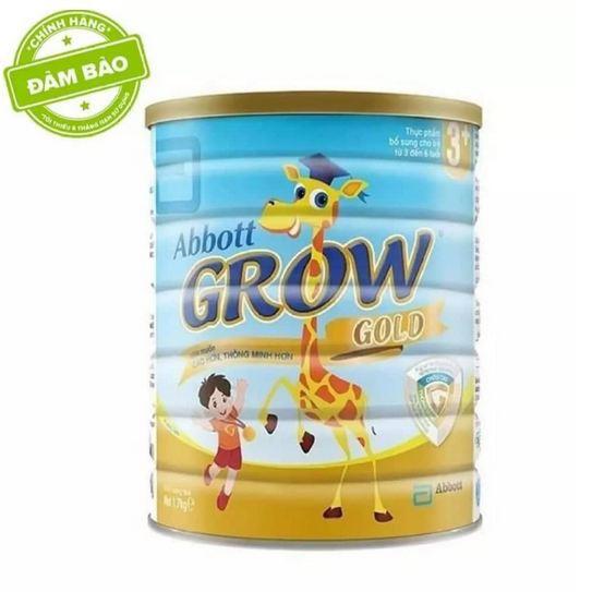 Sữa bột Abbott Grow Gold 3+ Hương Vani 1.7kg. Date 2020