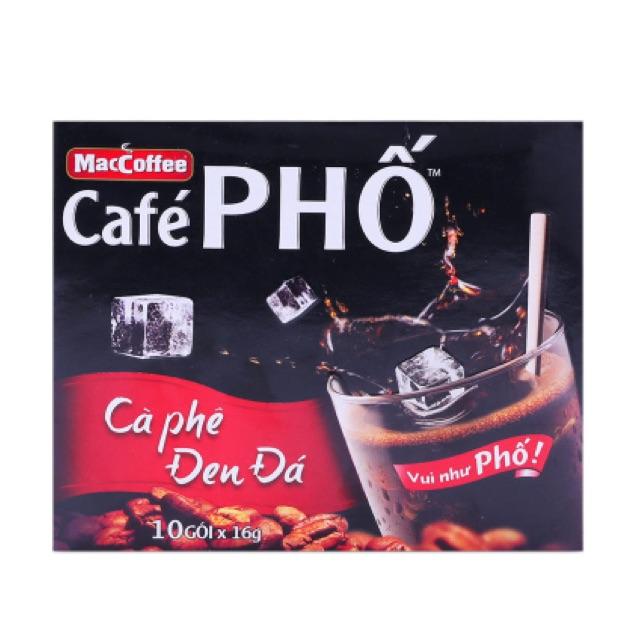 Cà phê đen đá Café Phố MacCoffee 160g - 2522487 , 261039206 , 322_261039206 , 48000 , Ca-phe-den-da-Cafe-Pho-MacCoffee-160g-322_261039206 , shopee.vn , Cà phê đen đá Café Phố MacCoffee 160g
