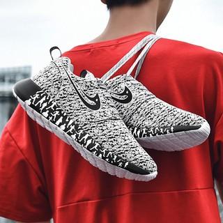 Giày thể thao cho nam và nữ Giày nam sneaker 35-47 vảy rồng thể thao vải lưới thoáng mát dáng thời trang Hàn Quốc