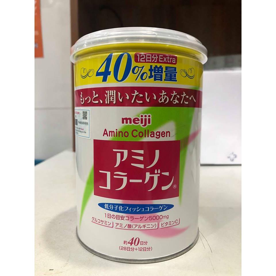 Sữa Meiji Amino Collagen Nhật Bản date đến 10/2019