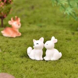 Tượng resin hình động vật mini dùng trang trí tiểu cảnh DIY 6