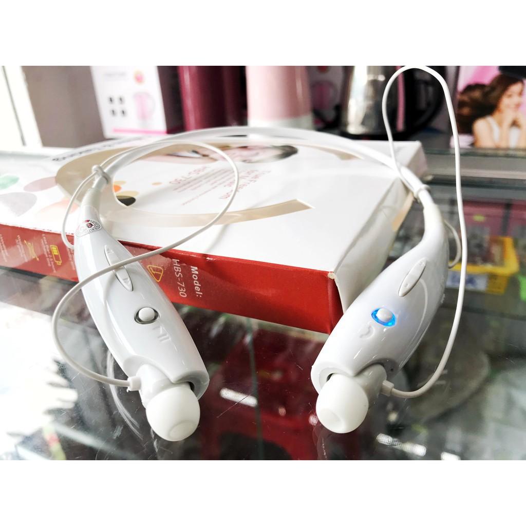 Mã ELFLASH5 giảm 20K đơn 50K] [FREE SHIP 99K ] TAI NGHE BLUETOOTH CAO CẤP  HBS 730 ÂM THANH CỰC HAY - Tai nghe Bluetooth nhét Tai Thương hiệu No brand