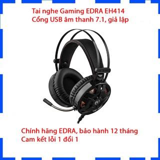Tai nghe Gaming EDRA EH412 - Âm thanh 7.1 - Ốp tai to mềm đeo lâu không bị tai - Bảo hành 12 tháng thumbnail