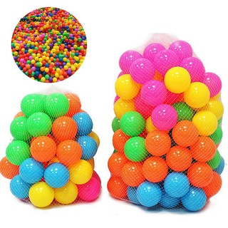 [AC} 100Pcs Colorful Soft Water Pool Ocean Wave Ball Outdoor Fun Sports Baby Toy