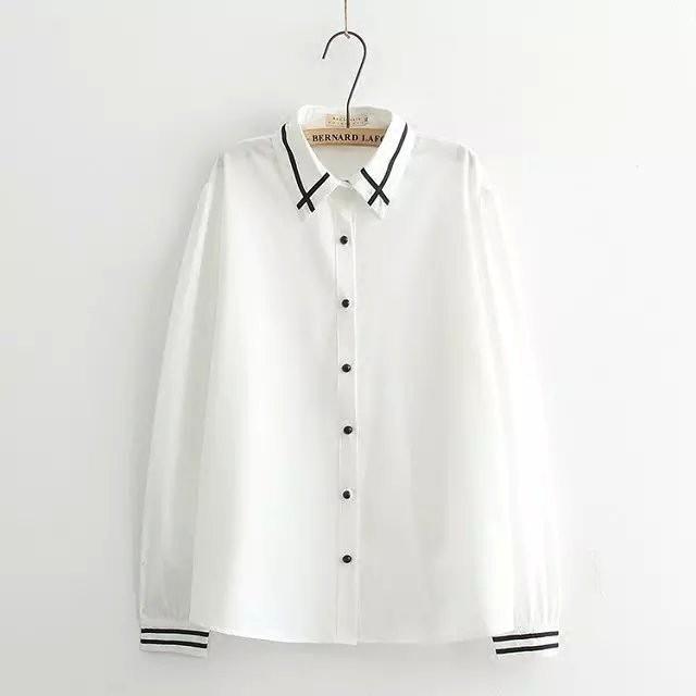 Fashion new spot quality awesome fat sister chiffon shirt female plus fertilizer XL loose thin long-sleeved shirt fat m