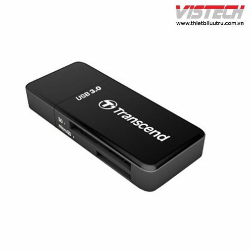 Đầu đọc thẻ nhớ Transcend USB 2.0 (Đen) - 2887284 , 121022399 , 322_121022399 , 160000 , Dau-doc-the-nho-Transcend-USB-2.0-Den-322_121022399 , shopee.vn , Đầu đọc thẻ nhớ Transcend USB 2.0 (Đen)