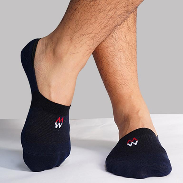 [Mã FAMALLT5 giảm 15% đơn 150K] Tất vớ lười 95 % cotton kháng khuẩn khử mùi, silicon chống tụt gót chân
