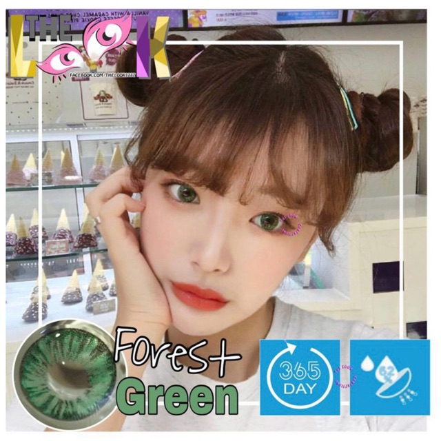 Forest lens green cận