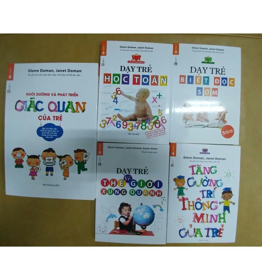 """Sách - Bộ sách: """"Giáo dục sớm và Thiên tài""""- Glenn Doman 5 quyển - 3354391 , 562034408 , 322_562034408 , 373000 , Sach-Bo-sach-Giao-duc-som-va-Thien-tai-Glenn-Doman-5-quyen-322_562034408 , shopee.vn , Sách - Bộ sách: """"Giáo dục sớm và Thiên tài""""- Glenn Doman 5 quyển"""