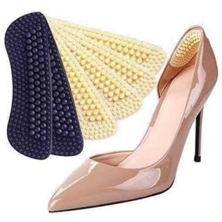 (sẵn) miếng Lót giày silicon matxa 360 độ